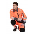 PANTALON GENOUILLERES ROADY ORANGE FLUO /CONVOY  ETJ 82CM