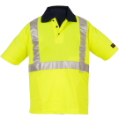 Polo Fluo Purpose Jaune