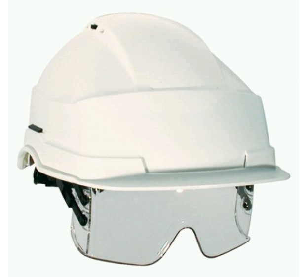 CASQUE DE CHANTIER IRIS 2 SANS AERATION BLANC