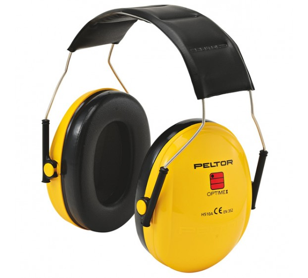 CASQUE ANTI-BRUIT OPTIME I JAUNE