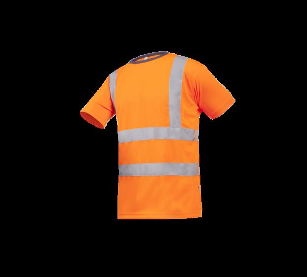 T-shirt Ameno Orange Fluo