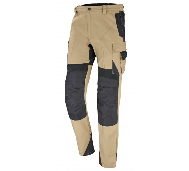 PANTALON DE TRAVAIL CRAFT WORKER XP SAVANE/NOIR