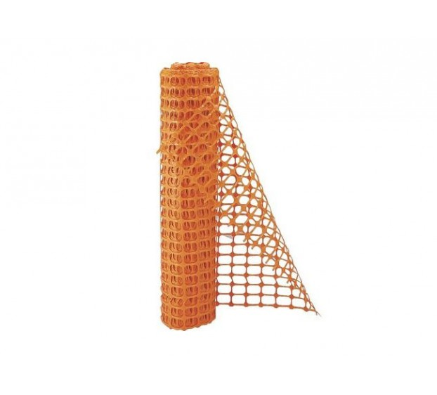 BARRIERE DE SIGNALISATION POLYPROPYLENE ORANGE FLUO