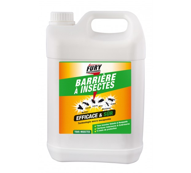 FURY PRO BARRIERE INSECTES 5L