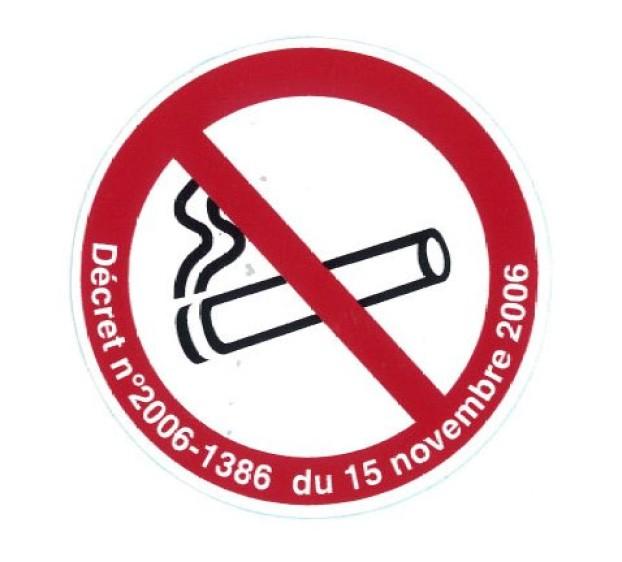 Interdiction de fumer adhésif A4