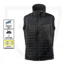 GILET DE TRAVAIL SANS MANCHE/BODYWARMER ADVANCED NOIR/ANTHRACITE