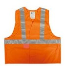 GILET HV ATEX SECUECO ORANGE FLUO T.XL