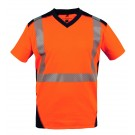 T-SHIRT DE TRAVAIL MC BALI ORANGE
