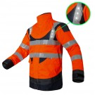 PARKA DE TRAVAIL ANNAPURNA ECLAIRAGE LED ORANGE/MARINE