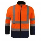 BLOUSON SOFTSHELL ZOE ORANGE/MARINE