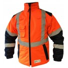 VESTE FROID MANCHES AMOVIBLES MULTIRISQUE ATEX ORANGE