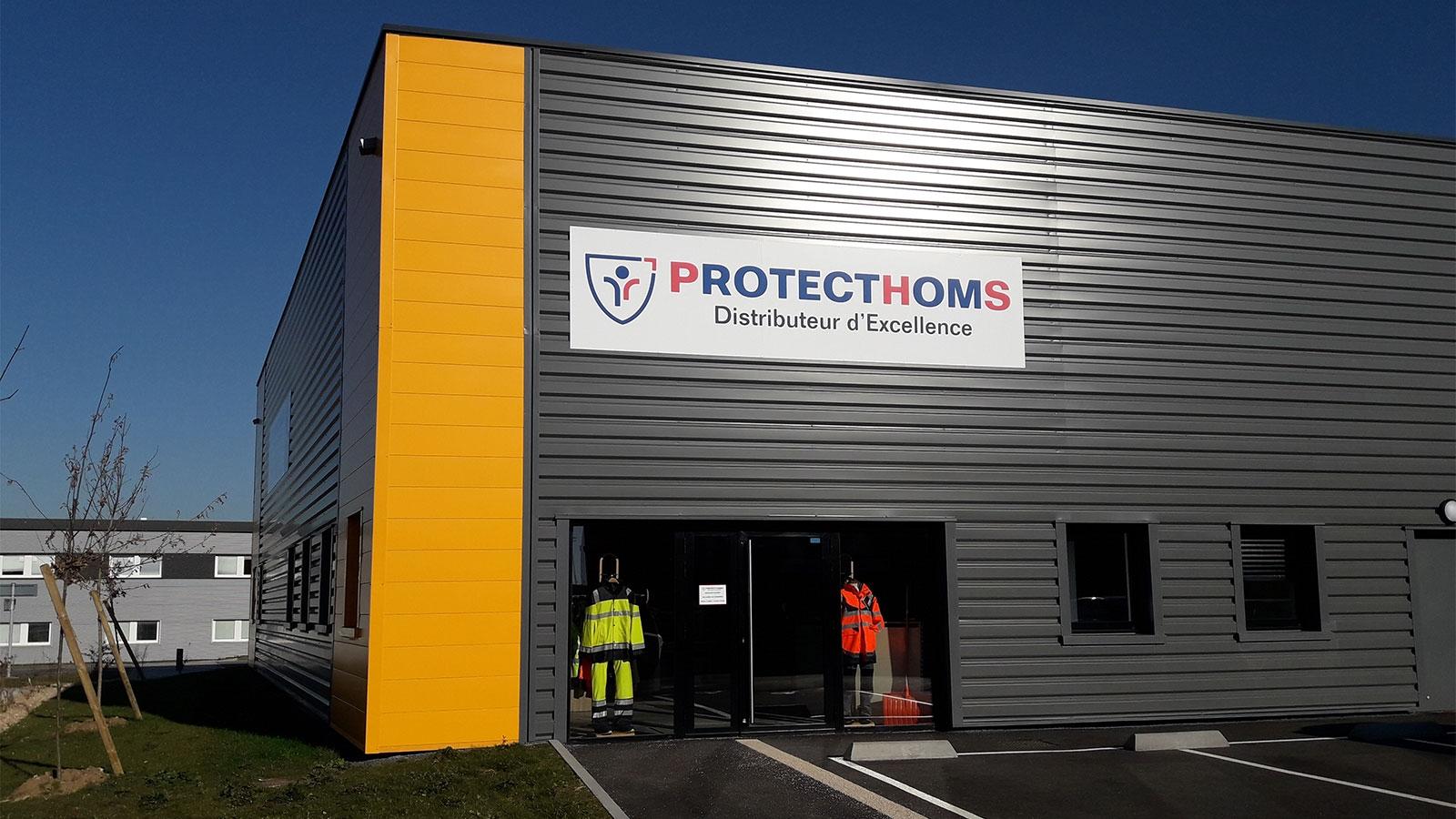facade agence protecthoms caen-distributeur epi premium